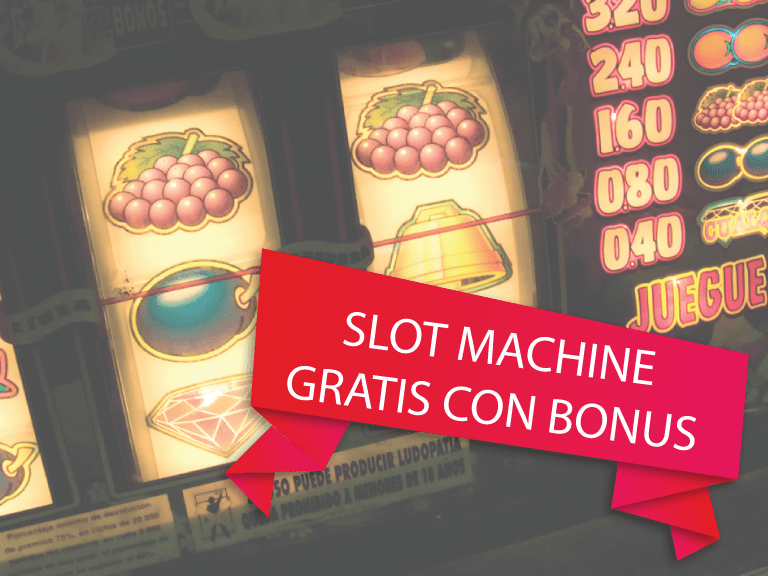 Slot machine bonus senza deposito