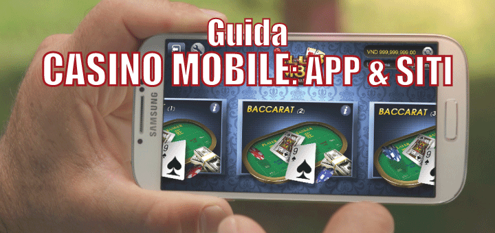 casinò mobile aams android iphone
