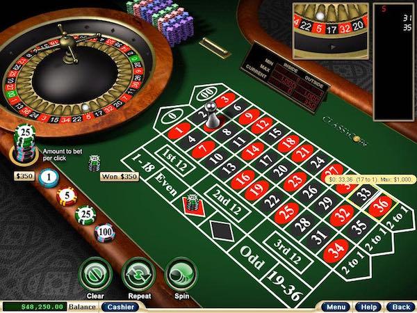 casino roulette bonus senza deposito