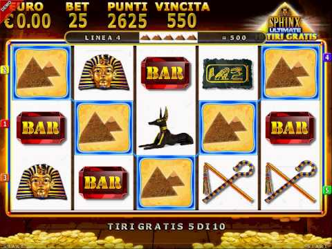 Gioco slot machine sphinx gratis