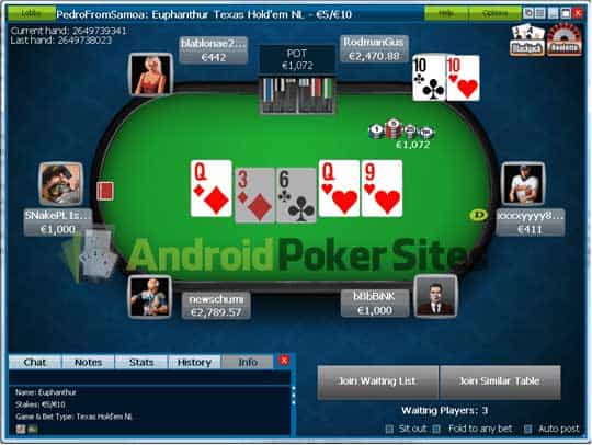 William Poker Online