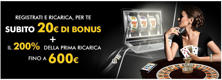 Bonus Benvenuto Lottomatica