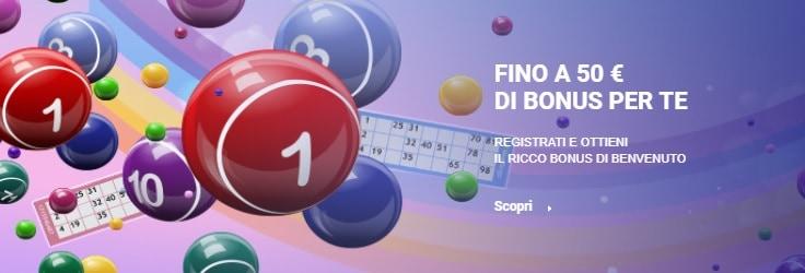 Welcome Bonus Sisal Bingo Online