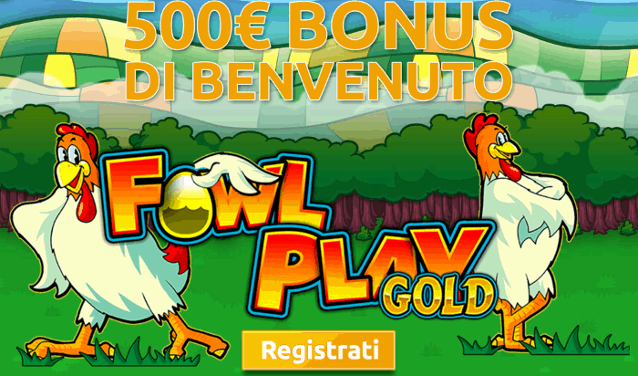 slot machine galline Fowl play gold gratis
