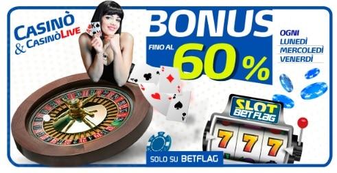 Bonus BetFlag Casino