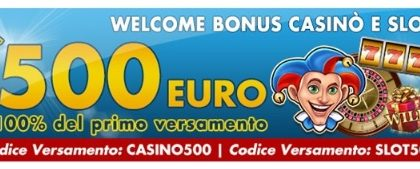 Betflag Welcome Bonus