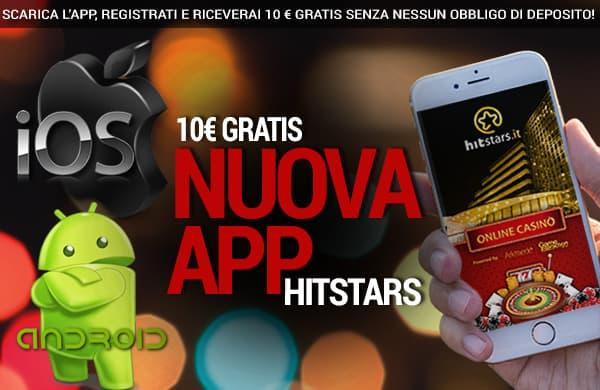 HitStars offre un bonus senza deposito molto elevato