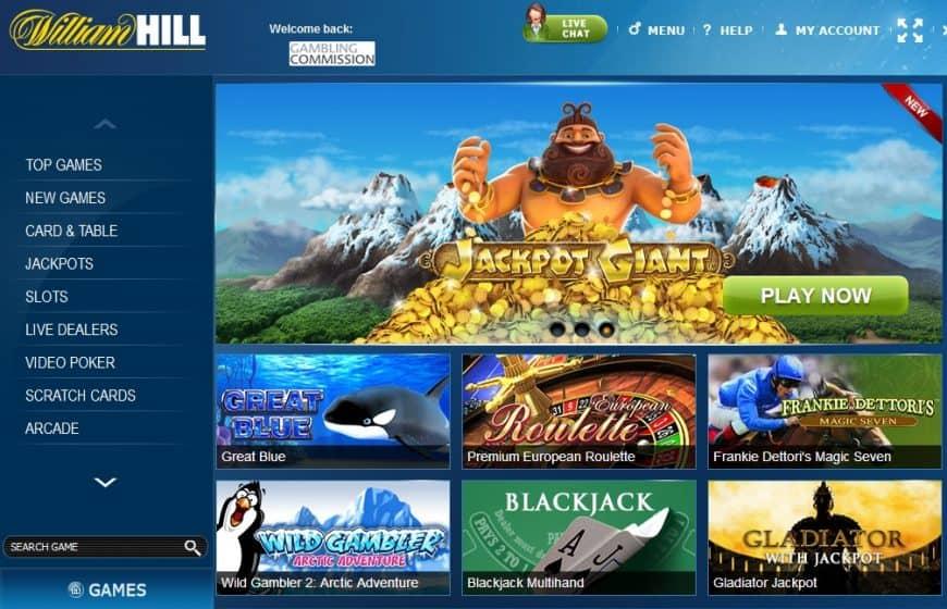 William Hill opera sotto licenza AAMS