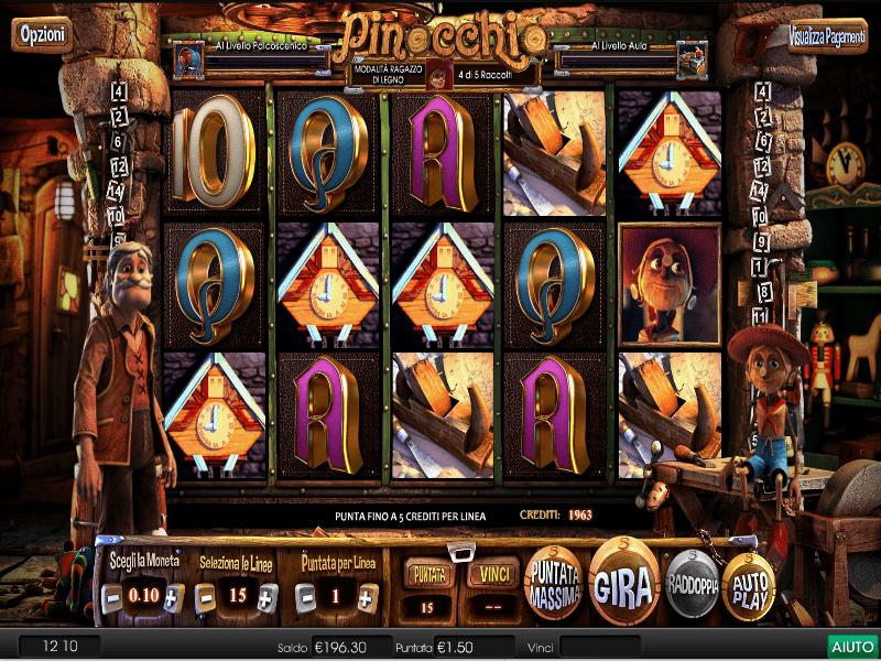 Slot machine gratis senza scaricare senza registrazione