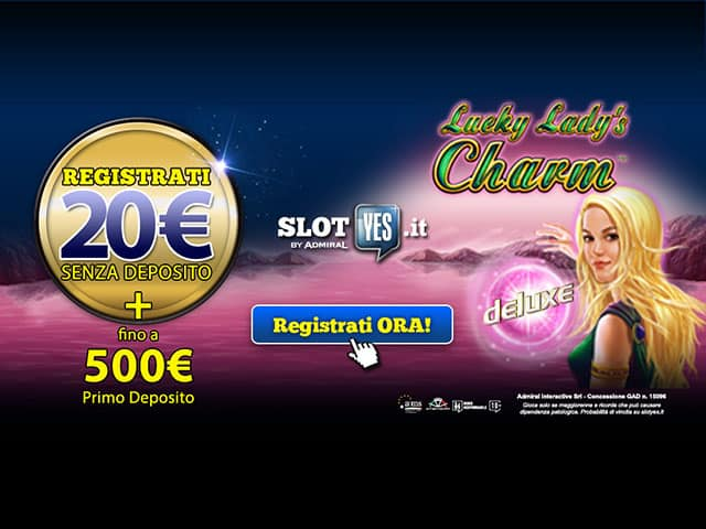 Slot online bonus immediato senza deposito