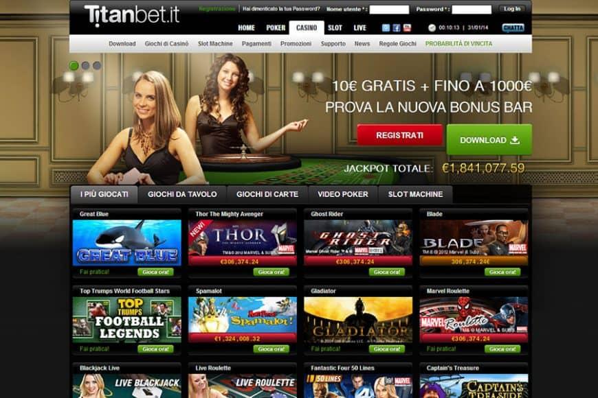 TitanBet gode di una licenza AAMS