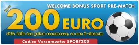 Welcome Bonus Betflag Scommesse