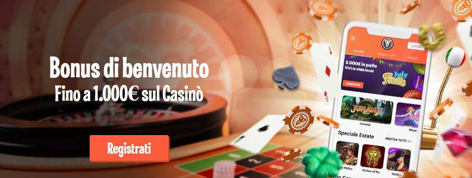 Leovegas Casinò Online bonus