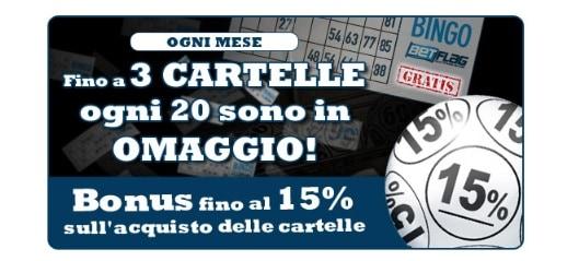 Bonus Mensile Betflag Bingo Online