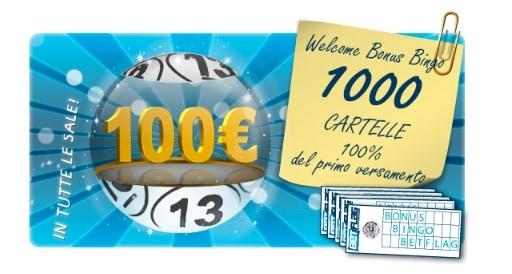 Welcome Bonus Betflag Bingo Online