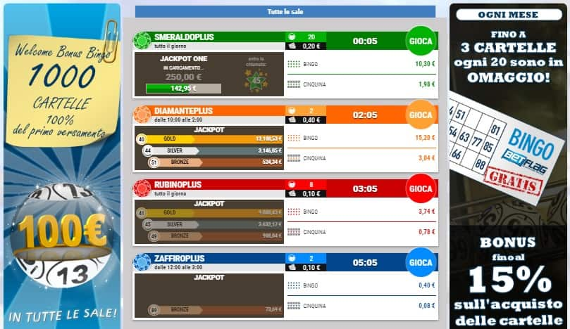 Betflag Bingo Online