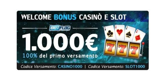 Welcome Bonus BetFlag