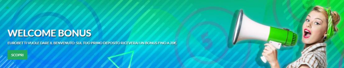 Welcome Bonus Eurobet Bingo Online