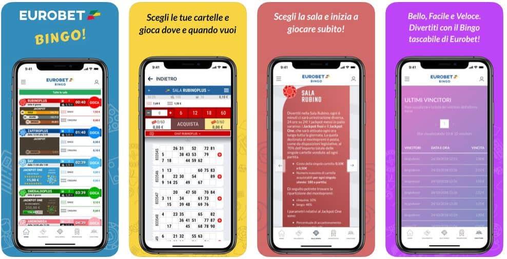 Eurobet Bingo Mobile