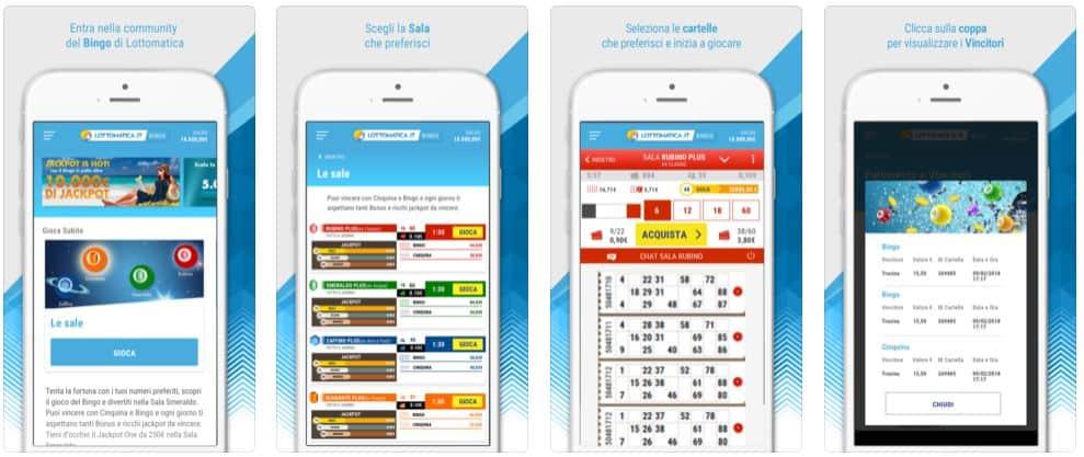 App Lottomatica Bingo Online