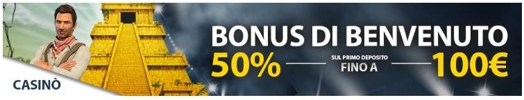 Domusbet Bonus Benvenuto