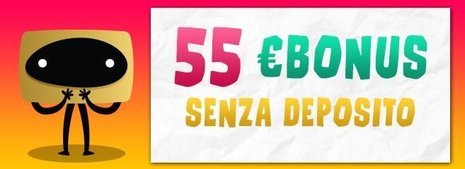 Bonus Senza Deposito Big Casino