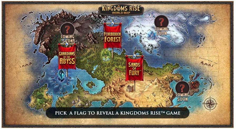 Mappa Kingdom Rise