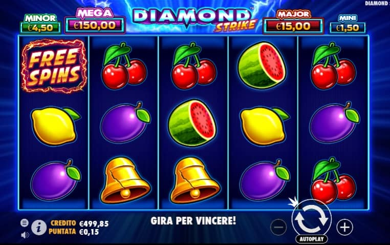 Diamond Strike Slot Pragmatic Play