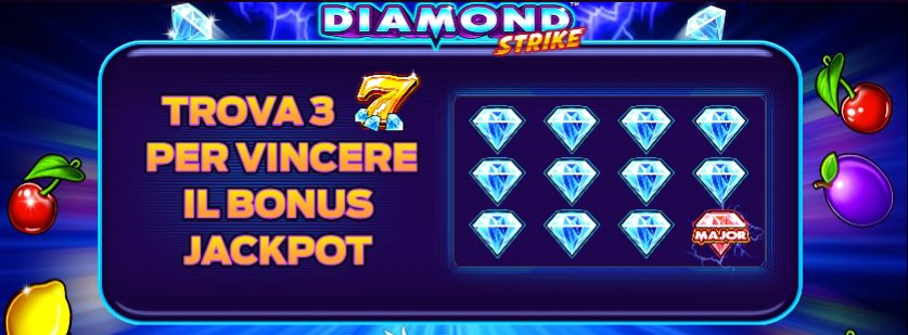 Diamond Strike Jackpot