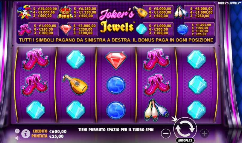 Joker Jewels Slot Pragmatic Play