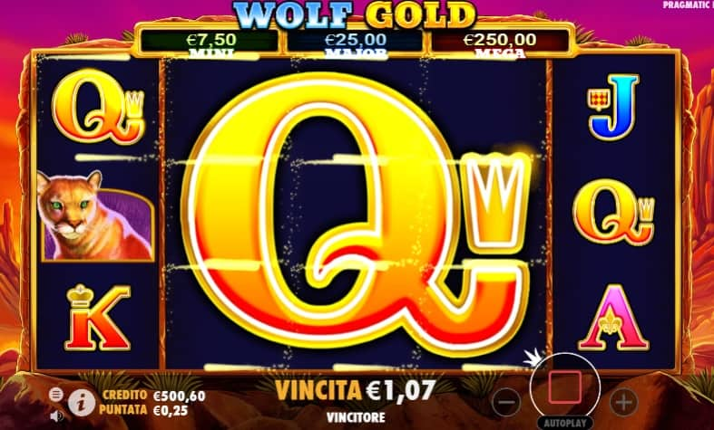 Wolf Gold Free Spin