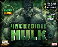 Incredibile Hulk Slot Machine