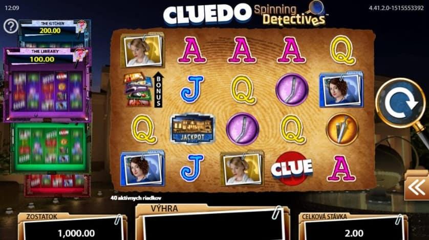 Cluedo Spinning Detectives gratis