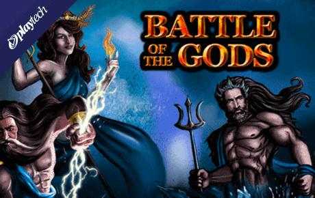 battle of the gods playtech slot