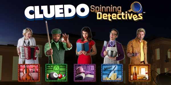 cluedo spinning detectives slot
