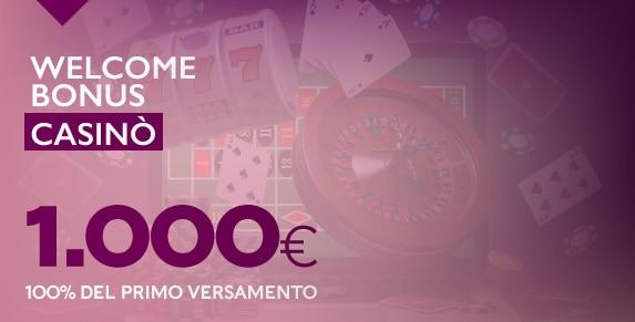 Welcome Bonus Betflag Giugno 2020