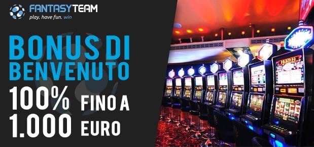 Fantasyteam Bonus Casino 1000€