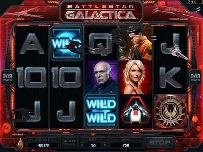 battlestar galactica slot gratis