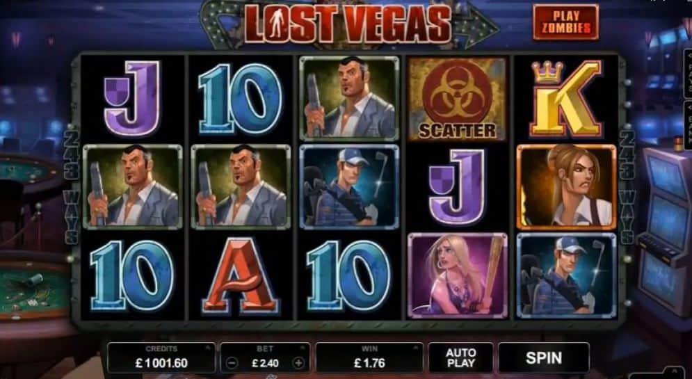 lost vegas slot gratis