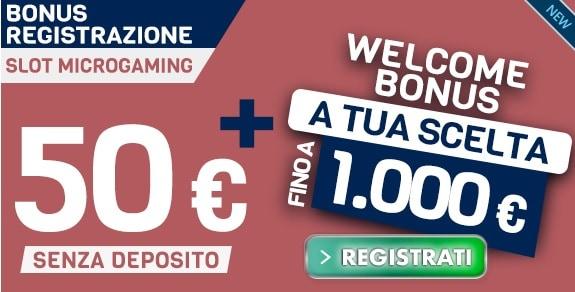 Bonus Betflag 50€ Slot Microgaming
