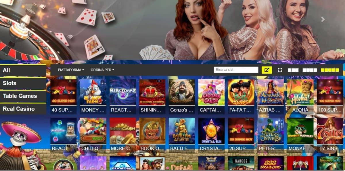 Betn1 casino home