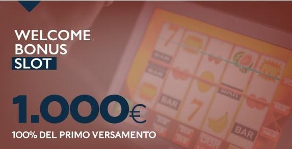Betflag casino 1000E welcome