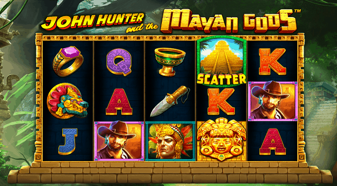 john hunter mayan gods slot gratis