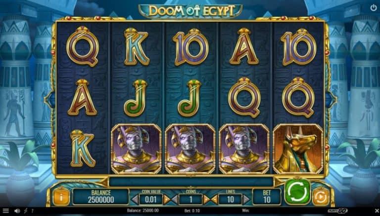 doom of egypt slot gratis
