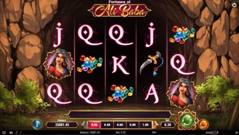 fortunes of ali baba slot gratis
