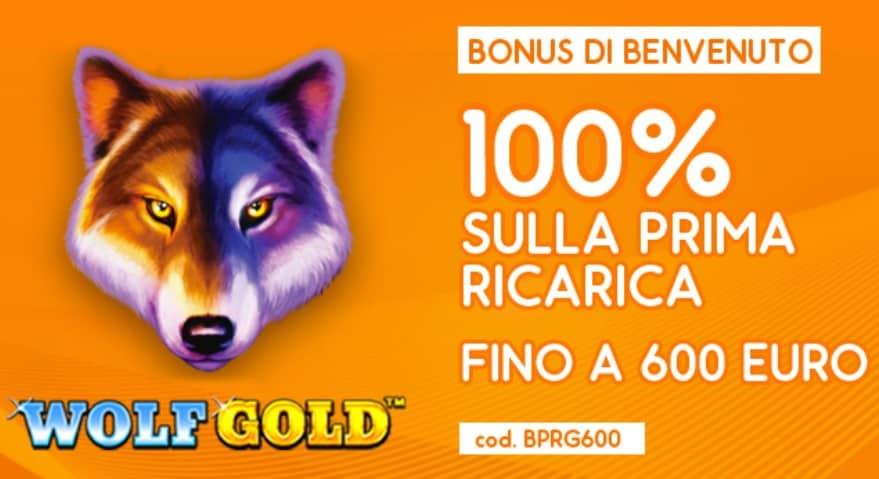 Bonus Bevenuto Skiller 600€