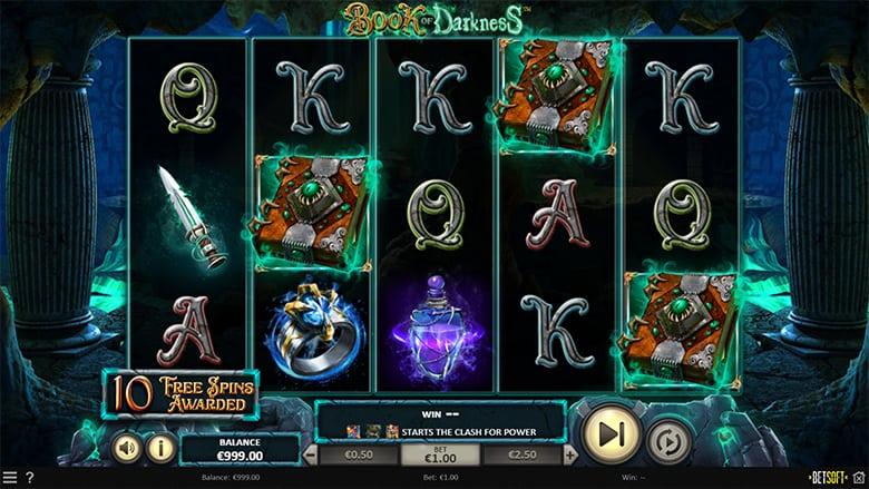 book of darkness slot betsoft gratis
