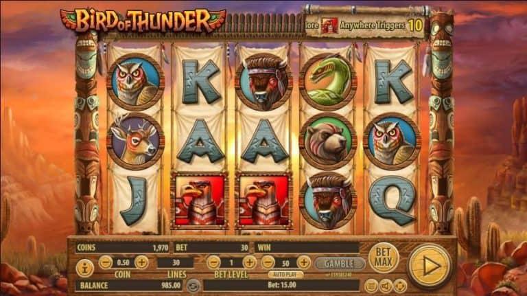 Bird of Thunder Slot Gratis