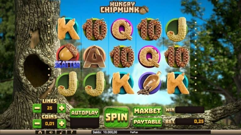 Hungry Chipmunk Slot Gratis Tuko