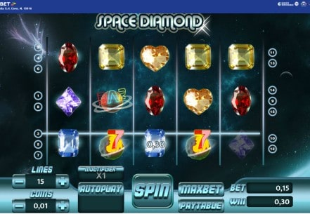 Space Diamond Slot Tuko